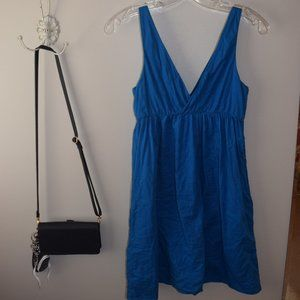 Blue Boho Old Navy Dress